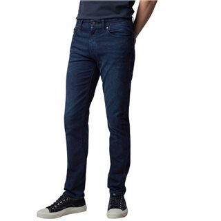 BOSS Navy Stretch Denim Slim Jeans