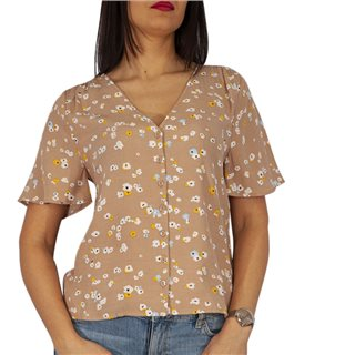 ICHI Natural Angel Floral Blouse