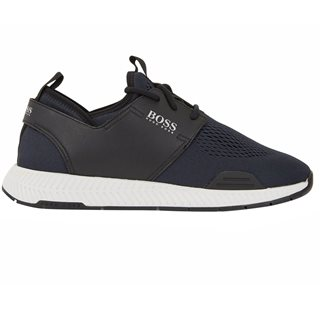 BOSS Dark Blue Titanium Runn Trainer