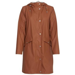 ICHI Orange Tazzo Rain Mac Jacket