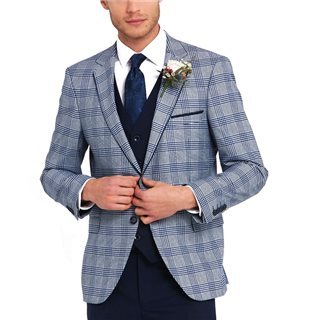 Benetti Blue Check Julius Mix & Match Jacket