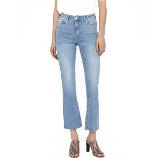 Vero Moda Light Blue Denim Sheila Wide Leg Skinny Fit Jeans