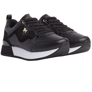 Tommy Hilfiger Footwear Black City Trainers