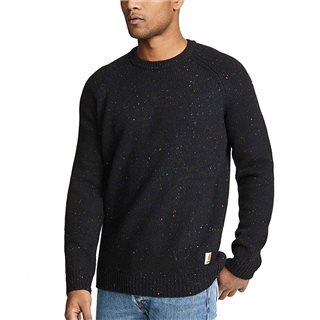 Carhartt WIP Black Heather Anglistic Sweater