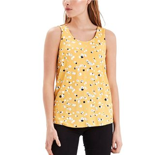 ICHI Buff Yellow Lisa Blouse
