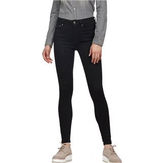 G-Star Pitch Black 3301 High Skinny Jeans