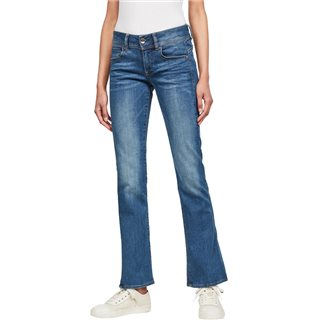 G-Star Faded Blue Midge Mid Bootcut Jeans