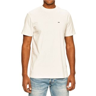Tommy Jeans White Heather Textured T-Shirt