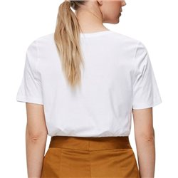 Selected Femme Bright White Statement Print T-Shirt