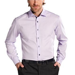Eterna Purple Modern Fit Dress Shirt