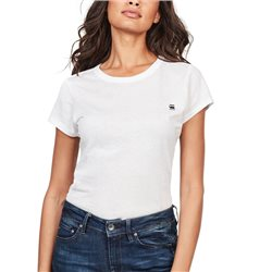 G-Star White Eyben Slim T-Shirt