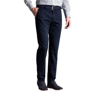 Meyer Navy Roma Classic Fit Chino