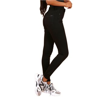 Toxic3 Black High Waist Colour Jeans