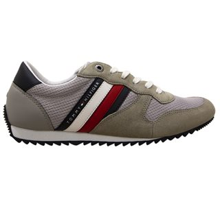Tommy Hilfiger Footwear Antique Silver Essential Mesh Trainer