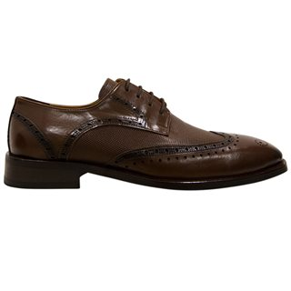 Benetti Brown Cognac Shoe