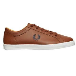 Fred Perry Tan Baseline Trainer
