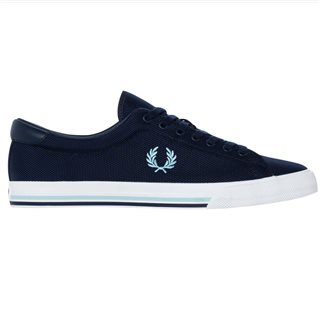 Fred Perry Carbon Blue Underspin Trainers