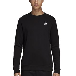 adidas Originals Black Essential Crew Neck Sweater