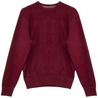6th Sense Wine Thunder Crew Neck Jumper