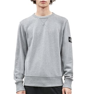 Calvin Klein Mid Grey Organic Cotton Sweatshirt