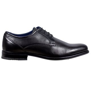Dubarry Black Darrel Shoe