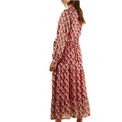 FRNCH Paris Red Abassia Dress