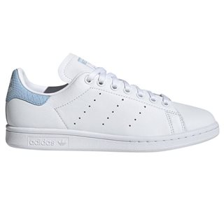 adidas Originals White/Blue Stan Smith Trainers