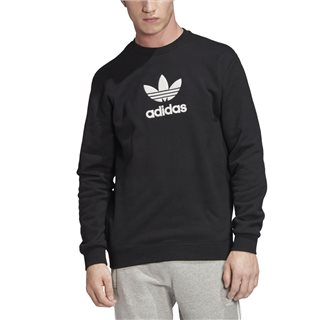 adidas Originals Black Premium Crew Sweatshirt