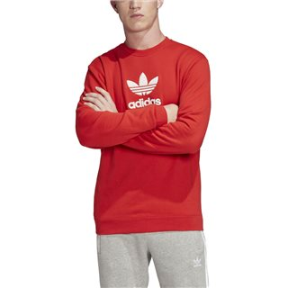 adidas Originals Lush Red Premium Crew Sweatshirt