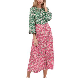 Closet London Green A-Line Midi Dress