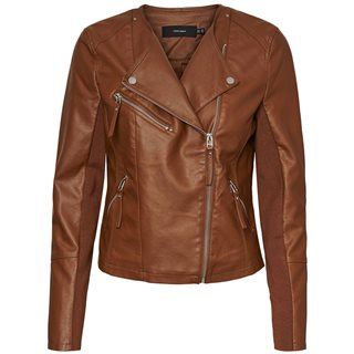 Vero Moda Emperador Short Imitiation Leather Jacket