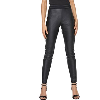 Vero Moda Black Imitation Leather Leggings