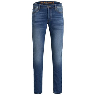 Jack & Jones Intelligence Blue Denim Glenn 006 Inidigo Knit Slim Jeans