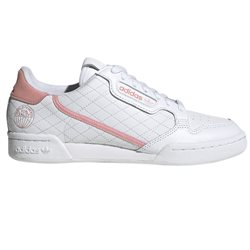 adidas Originals White/Glow Pink Continental 80 Women's Trainers