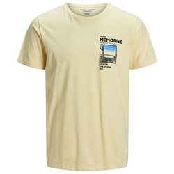 Jack & Jones Originals Yellow Photo Faster T-Shirt