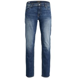 Jack & Jones Intelligence Blue Denim Clark 350 Regular Fit Jean