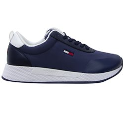 Tommy Hilfiger Navy Essential Mixed Panel Women's Trainers