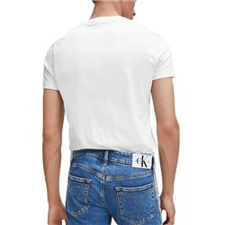 Calvin Klein White Slim Organic Cotton T-Shirt