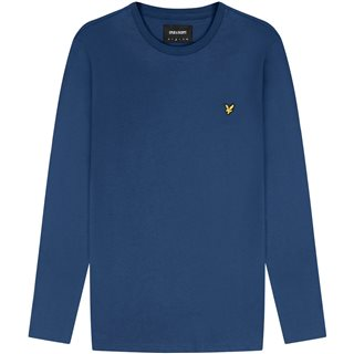 Lyle & Scott Indigo Long Sleeve T-Shirt