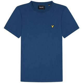 Lyle & Scott Indigo Plain T-Shirt