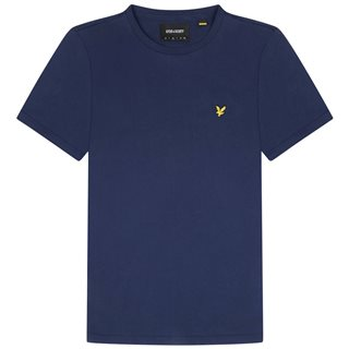 Lyle & Scott Navy Plain T-Shirt
