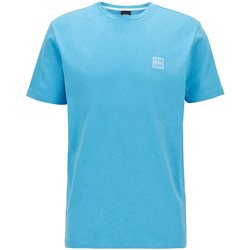 BOSS Aqua Single Jersey Cotton T-Shirt
