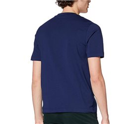 BOSS Navy Relaxed Fit Stretch Cotton T-Shirt
