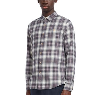 Farah Grey Bushell Casual Fit Check Shirt