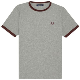 Fred Perry Steel Ringer T-Shirt