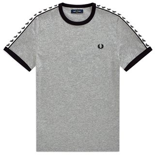 Fred Perry Steel Taped Ringer T-Shirt