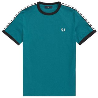 Fred Perry Petrol Ringer T-Shirt