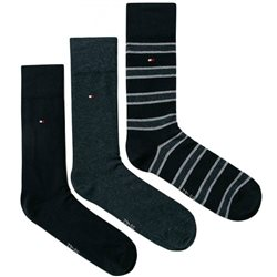 Tommy Accessories Jeans 3 Pack Socks