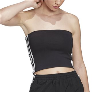 adidas Originals Black Tube Top