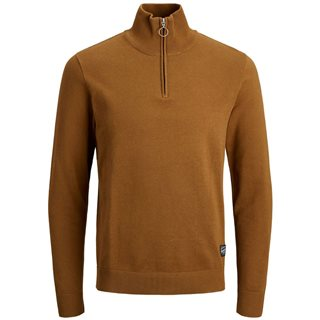 Jack And Jones Rubber Eli High Neck Knitted Pullover